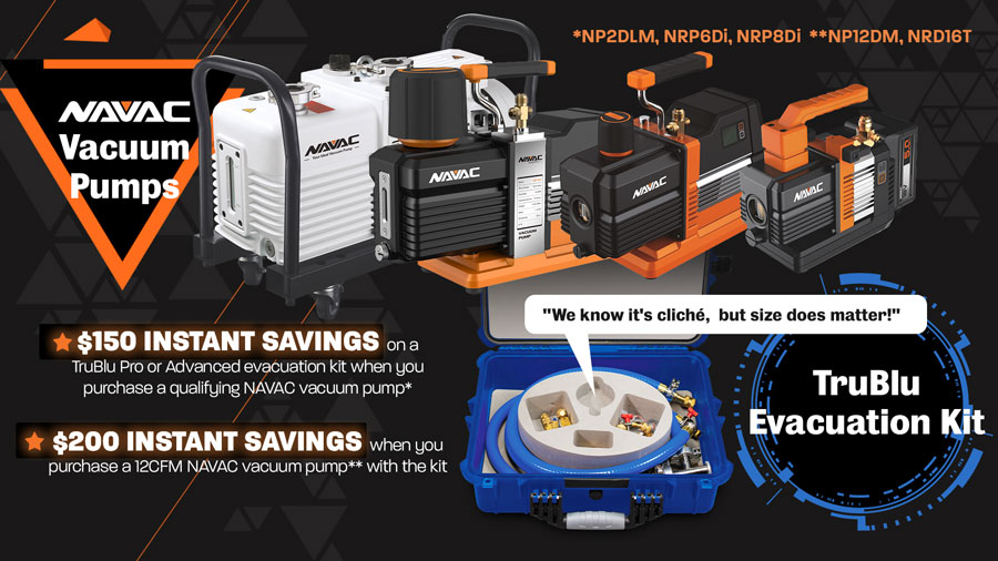 HVAC/R Leader NAVAC and Tools Specialists AccuTools Team Up